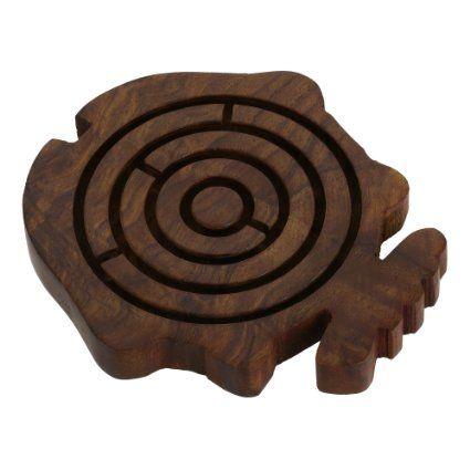 Labyrinthe à billes poisson - Jouet en bois - Idée cadeau de noël: Amazon.fr: Jeux et Jouets
