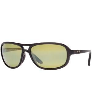 Maui Jim Sunglasses, 288 Breakers 64 - Gry Drk, Grn M P