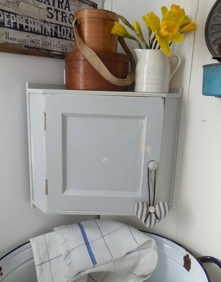 Sweet Little Vintage Corner Cupboard Just Added To Our Website. Link To  Details: Http