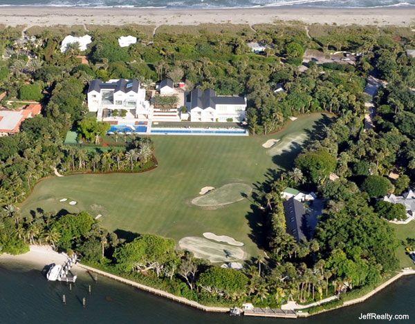 Tiger Woods' backyard.