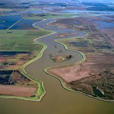 Delta yaitu tanah datar hasil pengendapan yang dibentuk oleh sungai, muara sungai, dimana timbunan sediment tersebut mengakibatkan propagradasi yang tidak teratur pada garis pantai (Coleman, 1968; Scott & Fischer, 1969).