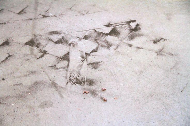 Igor Eskinja, Carpet Dust, polvere, 2014