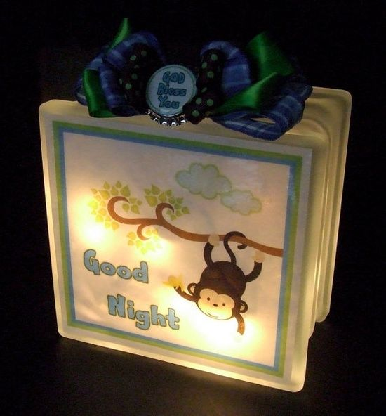 glass block craft ideas | Craft Ideas · Painted Glass BlocksLighted ... : ideas for lighted decorative glass blocks - www.pureclipart.com