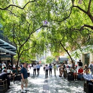 Pitt Street Mall by Tony Caro Architecture
