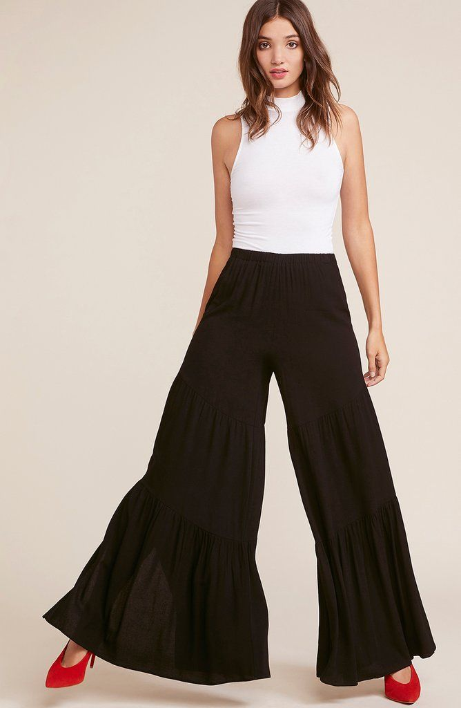 Do The Hustle Tiered Pant Black Xs In 2018 Emma Pinterest