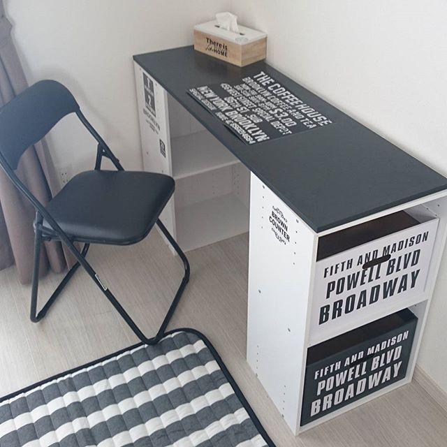 プチプラで組み立てが簡単、移動もラクなカラーボックス。使い勝手が良いので人気がありますね!そんなカラーボックスに手を加えると家具としての幅が広がるんです。今回は、カラーボックスリメイク活用術をご紹介したいと思います。