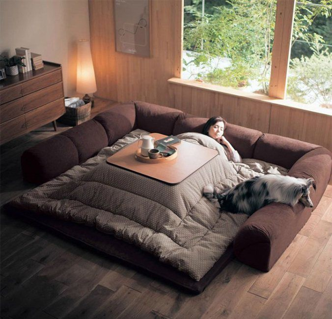 The kotatsu, An Ingenious Japanese Table That Offers The Comfort Of Giant Warm Bed | 123 Inspiration