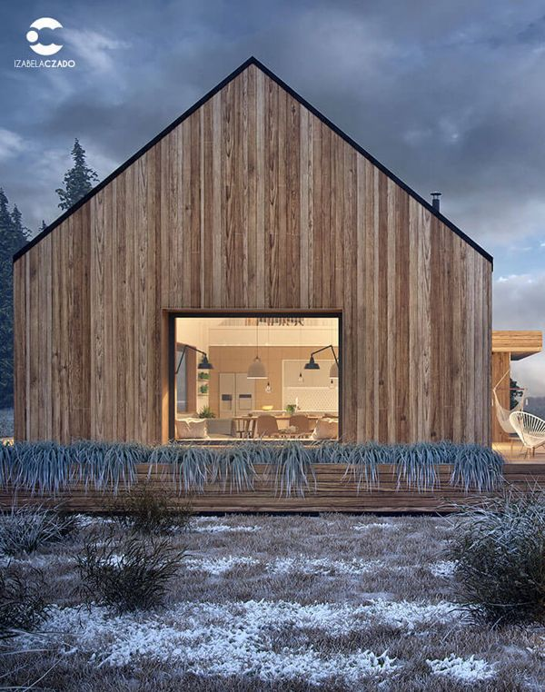 Simplicity Scandinavian House With Wood Characteristics Home Design And Interior In 2020 Modern Barn House Scandinavian Home Wood Interior Design