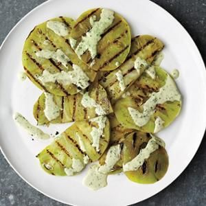 Basil Sauce - Enjoy the flavors of fried green tomatoes in a lighter ...