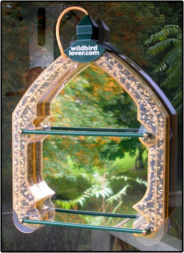 Window Bird Feeder One Way Mirror Woodworking Projects