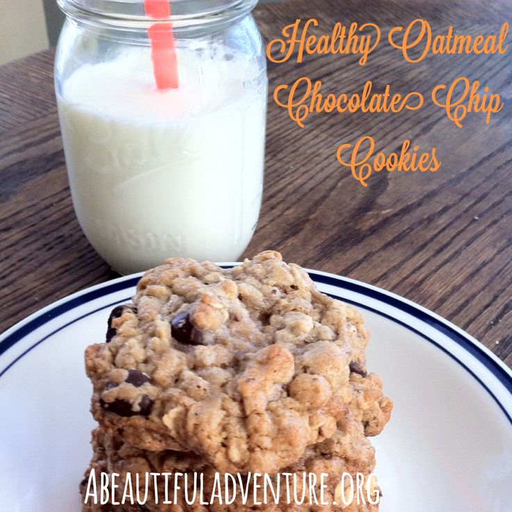 Oatmeal Chocolate Chip Cookies (with coconut oil and whole wheat flour!) https://www.advocare.com/131129878