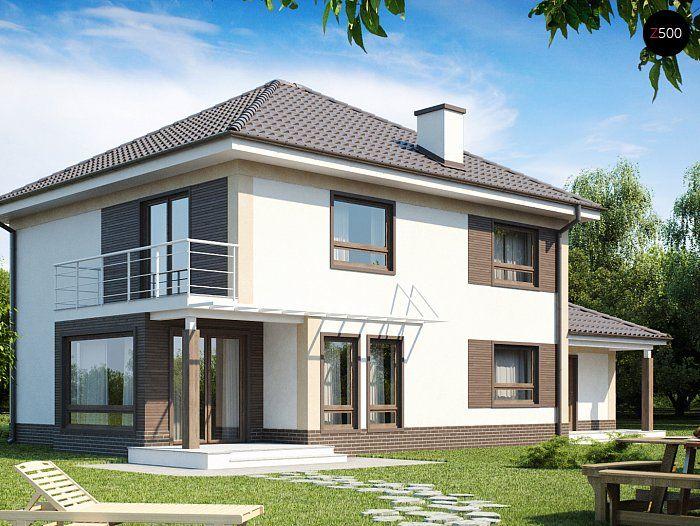 Проекта дома Zx12 - фото 1