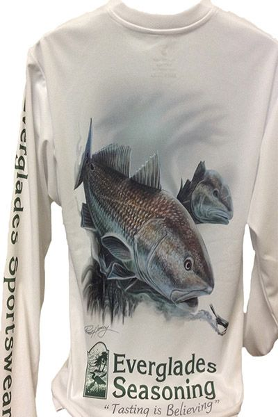 1000 images about everglades seasoning gift items on for Moisture wicking fishing shirts