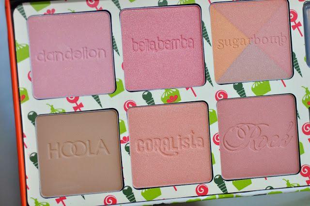 Beauty Favorites Video #benefitcosmetics #cheekysweetspot #blush palette