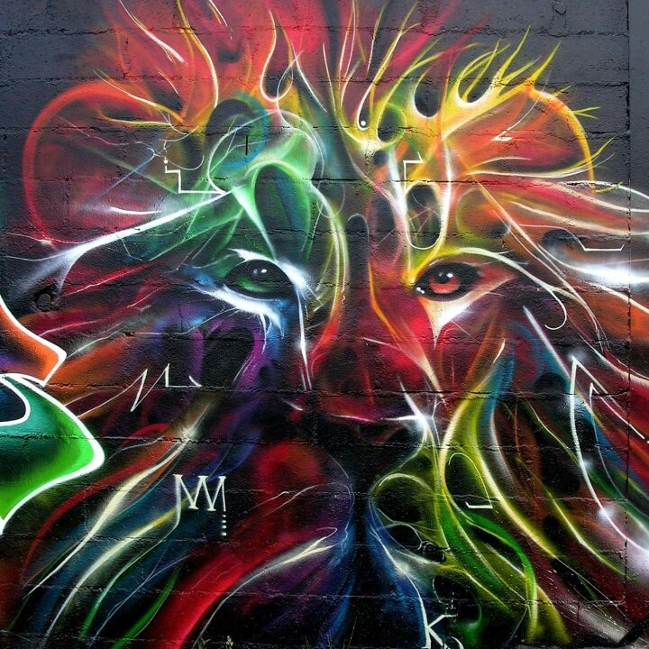 Graffiti Lion
