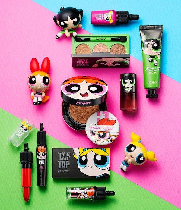 Linha de Maquiagem das Meninas SuperPoderosas