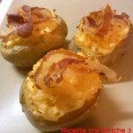 Barchette di patate con fontina