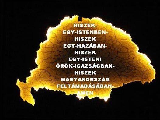 hiszek Magyarország feltámadásában