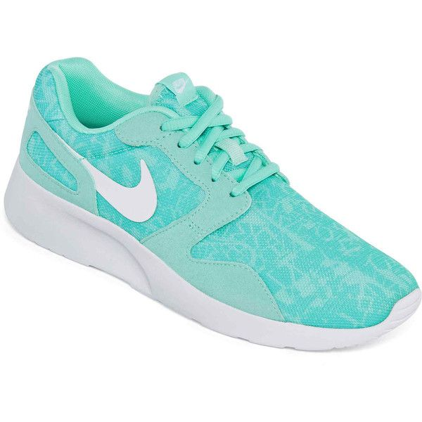 Nike Kaishi Print Womens Running Shoes ($75) ? liked on Polyvore featuring  shoes,