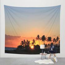 Society6◆タペストリー◆Hawaii Sunset by Heather Fisher