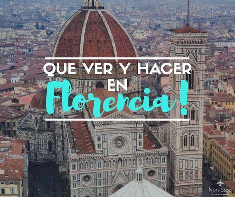40 cosas imperdibles que hacer en tu paso por Florencia, una de las ciudades más astísticas y culturales de La Toscana, Italia.