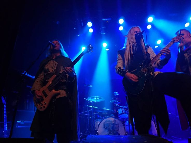 Twilight Force ⚫ Photo by Elise Smit ⚫ Tilburg 2016 ⚫ #TwilightForce #music #metal #concert #gig #musician  #Born  #Aerendir #guitarist #guitar #bassist #bass #microphone #ninja #mask #armour #armor #microphone  #elf #tabard #playing #coat #earrings #leather #blond #longhair #show #photo #fantasy #magic #cosplay #larp #man #onstage #live #celebrity #band #artist #performing