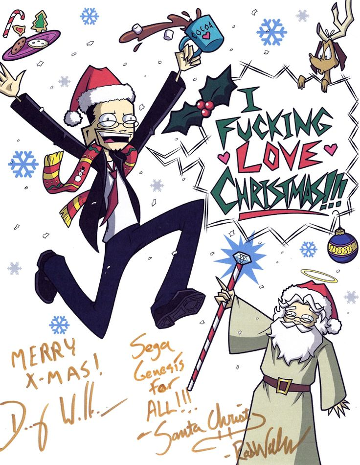 Merry Christmas Nostalgia Critic! by Spectra22 on DeviantArt