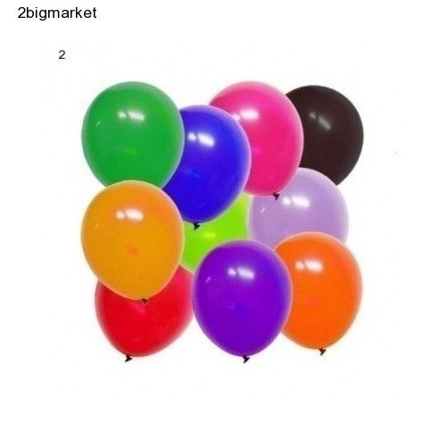 Balloons Mixed Assorted Colors 10 Inches Cheap Birthday Party Wedding Decor