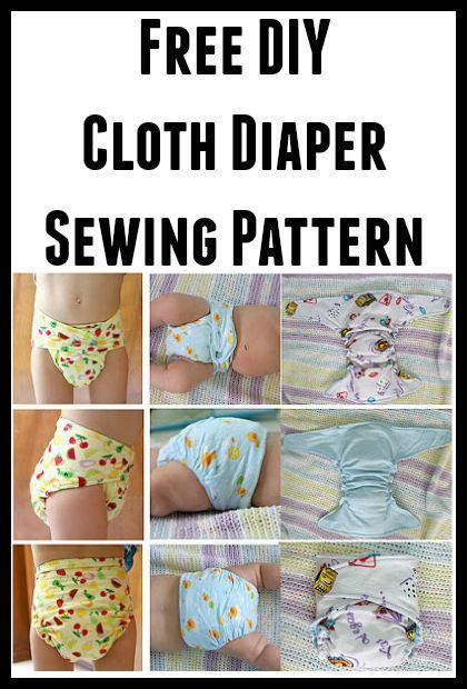 Free DIY Cloth Diapers Sewing Pattern