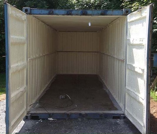 Container Spray Foam Insulation Supreme Foam Insulation Kerry Cork Limerick Storage, Extension or Shed Container Spray Foam Insulation. Whether its a Shipping Container Insulation or Garden Shed Container. Supreme spray foam has you