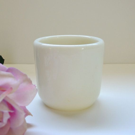 Vintage ww ii navy handwarmer corning mug korean u s military handleless coffee white vintage - Handleless coffee mugs ...