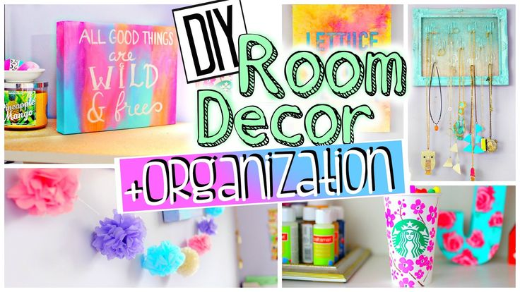 DIY Room Organization and Decorations | Spice up your room for 2015! JEN...