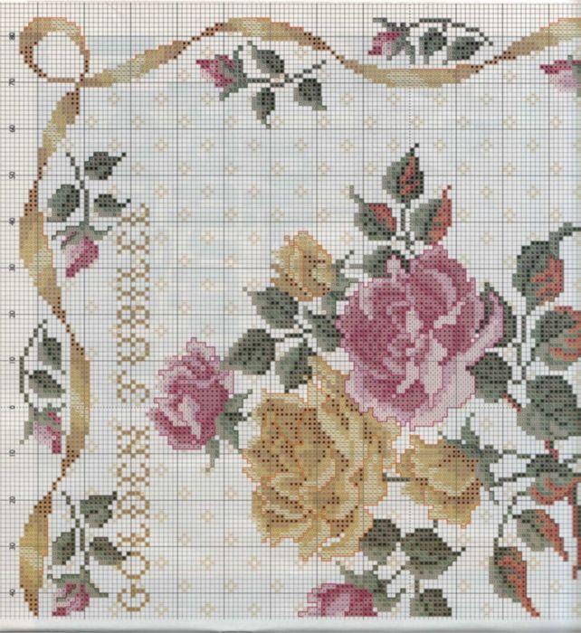 Gallery.ru / Фото #4 - 126 - irisha-ira / Floral Jubilee sampler 3/4