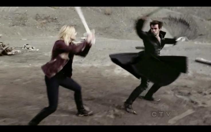 Sword fight training