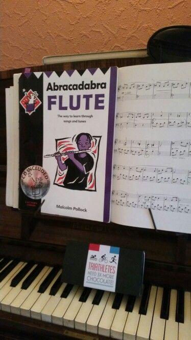 Flute. Piano.  Chocolate !
