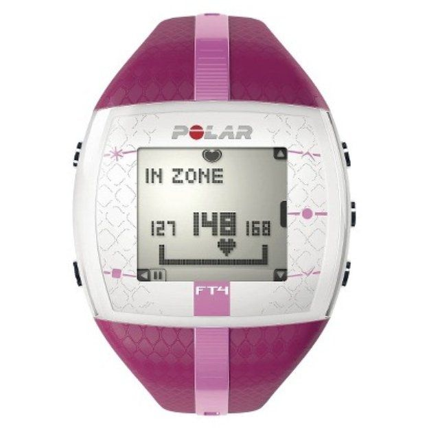 Browse unbiased reviews and compare prices for Polar FT4 Heart Rate Monitor. I like that it will tell me exactly how many calories I burned and let me know the target heart rate and whether or not I'm in range.