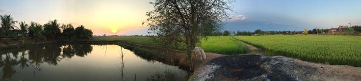 Chaiyaphum countryside.