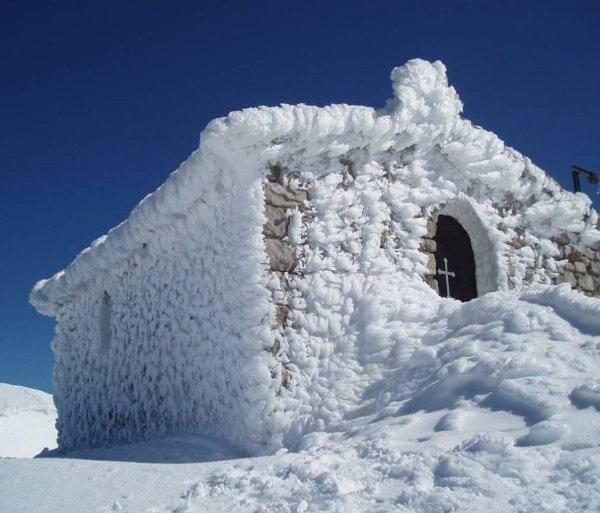 Prophet Elias Chapel - Gerodovrachos,  Parnassos mount