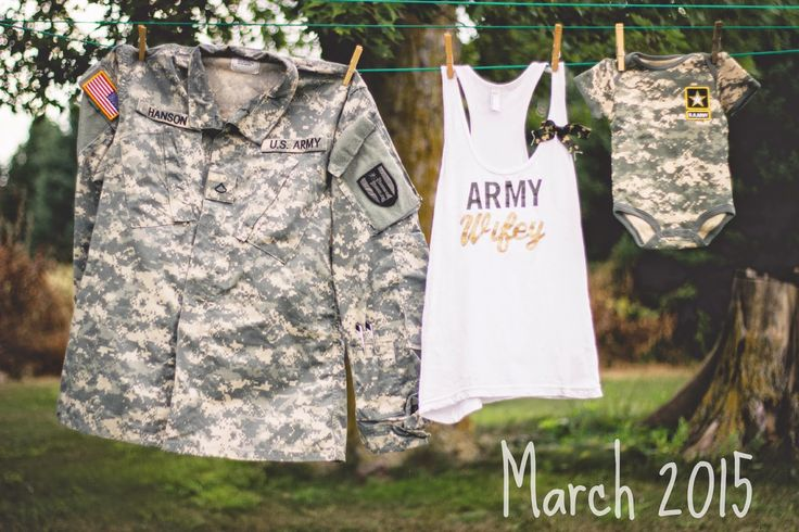 Army pregnancy announcement