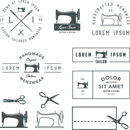 11 best tailor emblems images on Pinterest Tailor shop, Vector - seamstress resume