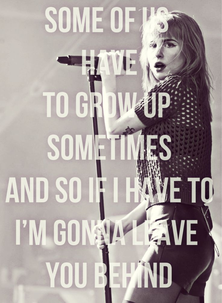 paramore quotes | Tumblr | words to live by | Pinterest ... Paramore Song Quotes
