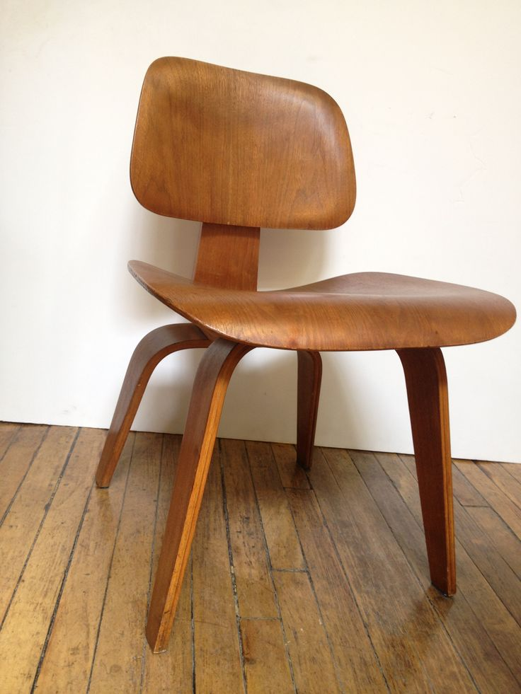 Early Eames DCW 1940's Made by Evans before Herman Miller was manufacturing for themselves