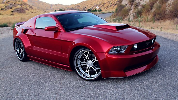 Whoever bought the custom Mustang, is one lucky car owner, it sure would be nice to own this sweet custom Mustang created by two great aftermarket companies such as West Coast Customs and Shelby.