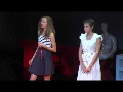 Pavla Geschwandtnerová a Tereza Rebeka Koreňová: Žiadne známky, žiadne úlohy - iba radosť z učenia - TEDxBratislava