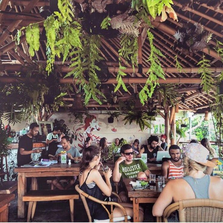 Full house at Shelter today - come have scrumptious, healthy breaky / brunch /lunch in our jungle cafe - we are open >>8am-6pm<< & dont forget to follow us on Insta @shelterseminyak for more yum pics!