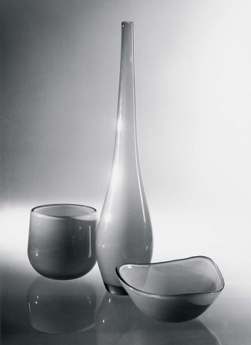 Bengt Orup; Johansfors, 1953; Bowls and vase from the Tona series