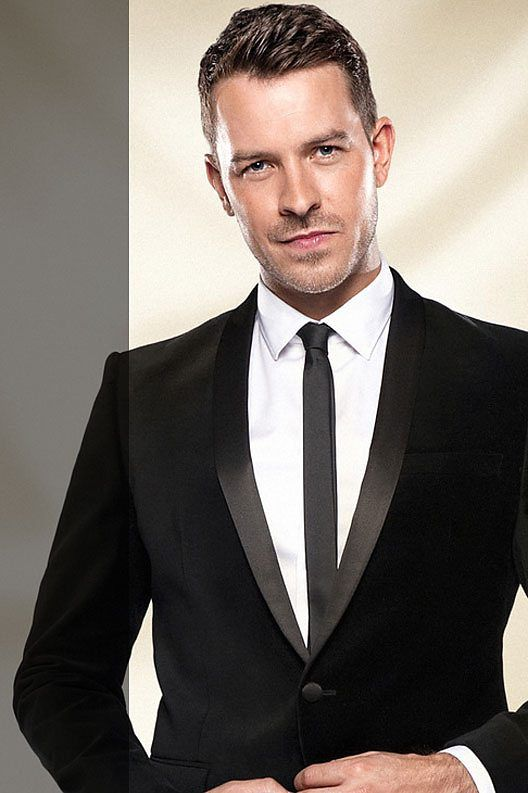 Strictly come Dancing 2013 contestant Ashley Taylor Dawson (Hollyoaks actor)