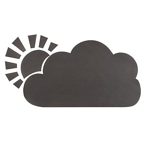 Buy little home at John Lewis Cloud Write-On Wall Sticker Online at johnlewis.com