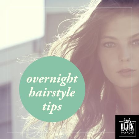 Wake up looking gorgeous with these overnight hairstyle tips. Sleeping beauty will be jealous of you! http://bit.ly/1FUviwE #lbbcoza