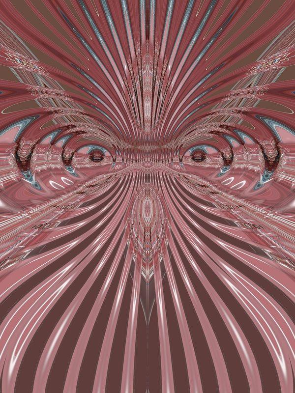 niezwykła palma--abstrakcja